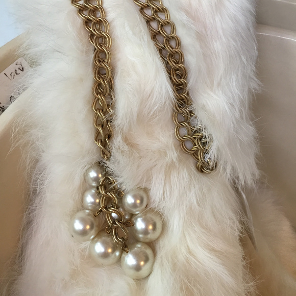 19348333e90b5 Vintage Faux Pearl Lariat Style Necklace